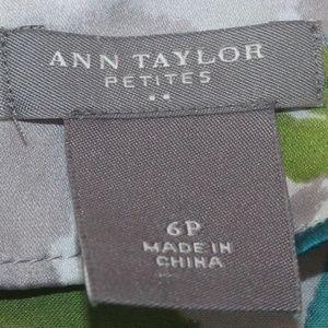 Ann Taylor Tops - Beautiful Floral Ann Taylor Blouse Size 6 Petites